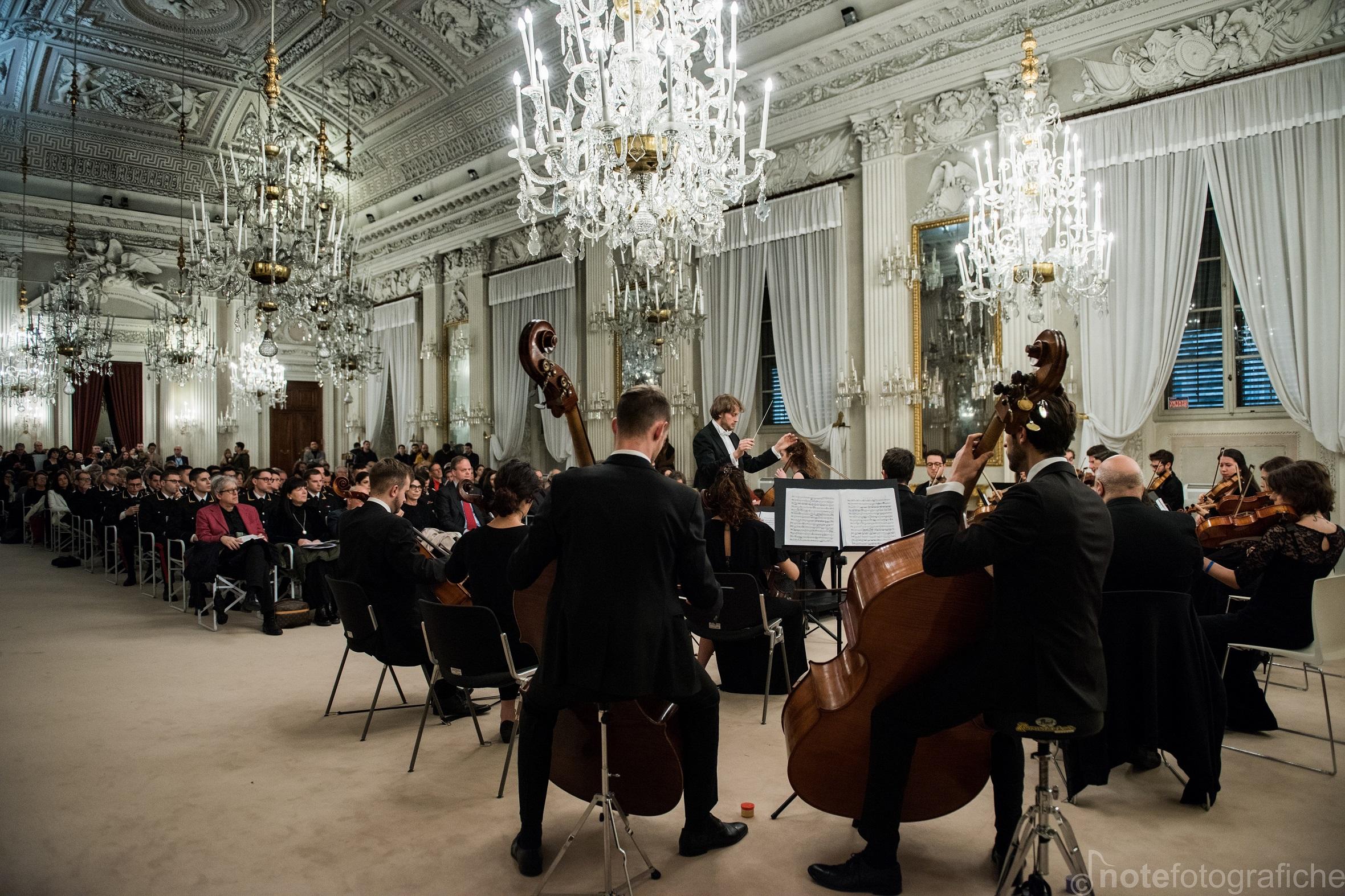 orchestra senzaspine